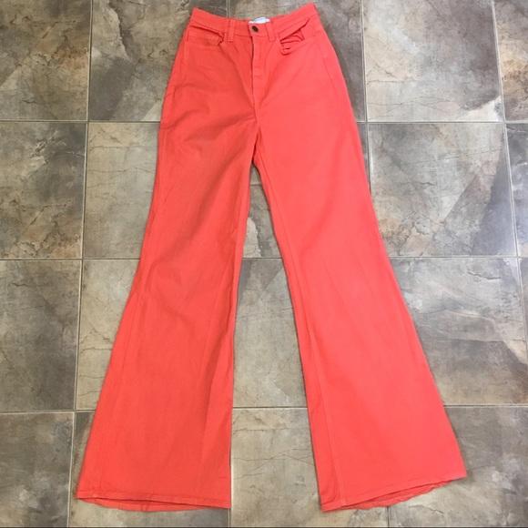 American Apparel Flare High Waist Jeans 27